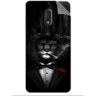 Snooky Printed Vinyl Mobile Skin Sticker For Nokia 6