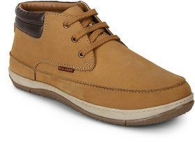 Red Chief Rust Mid Ankle Leather Casual shoe For Men (RC3482 022)