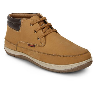 Red Chief Rust Low Ankle Leather Boot For Men (RC3482 022)