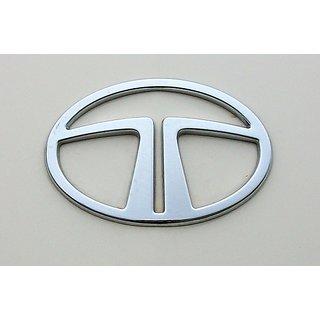 Logo TATA ARIA FRONT Monogram Emblem Chrome Graphics Decals Mono
