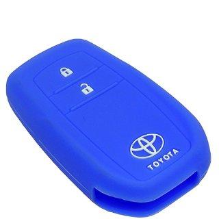Toyota Innova Crysta Car Key Cover - Blue