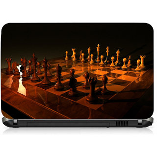 VI Collections Chess Board Printed Vinyl Laptop Decal 15.5