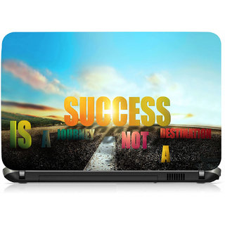 VI Collections Success Road Ways Printed Vinyl Laptop Decal 15.5