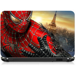 VI Collections Spider Man Printed Vinyl Laptop Decal 15.5