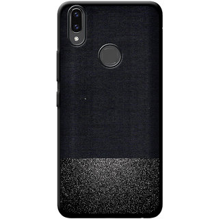 low priced 9f348 4c132 Cellmate Premium Look Soft Fabric Protective TPU Waterproof Mobile Back  Case Cover For Vivo V9