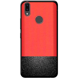 low priced ae5f0 9d7ce Cellmate Premium Look Soft Fabric Protective TPU Waterproof Mobile Back  Case Cover For Vivo V9