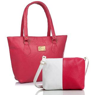 21dbb8e33859 Estoss Backpack Combo of 2 - Brown Women s Backpack White Sling Bag