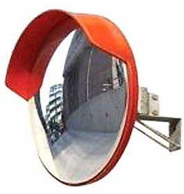 24 Inch Wide Angle Security Curved Convex Road Safety Mirror FROM RE-FOX