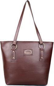 Mammon Tan Plain Handbag