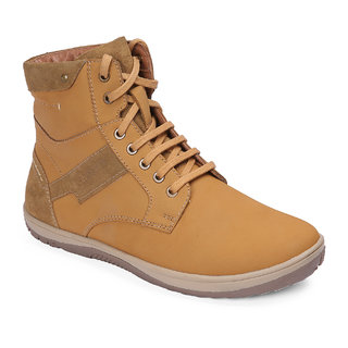 Red Chief Rust High Ankle Leather Boot For Men (RC3548 022)