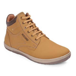 Red Chief Rust Mid Ankle Leather Boot For Men (RC3549 022)