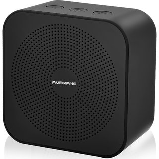 Ambrane BT-2100 Wireless Portable Bluetooth Speaker with Aux in / TF Card Reader / Mic. (Black)