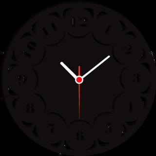 BALAJI TIMES WALL CLOCK CLOCK086