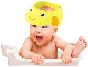 Futaba Baby Shower Bath Protect Soft Cap - Yellow