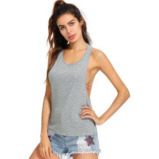 b69d69c58a604 The Blazze Women s Sleeveless Loose Fit Racerback Yoga Workout Tank Top
