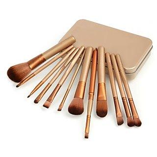 Cosmetic Professional Makeup Brush Set - 12 Piece Set
