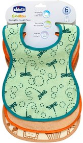 Chicco Weaning Bibs 6M+ 3Pcs