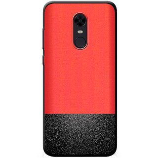 meet a18c9 1ff06 Cellmate Premium Look Soft Fabric Protective TPU Waterproof Mobile Back  Case Cover For Redmi 5