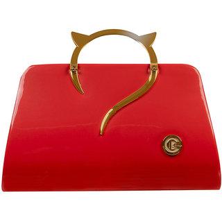 Levise London Women's Clutch Party Wear - Red