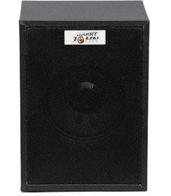 Barry John 017 Wooden Multimedia Speaker 10W Home Audio Speaker (Black, Mono Channel)