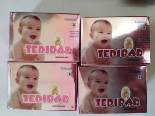 Tedibar Soap (pack of 4)