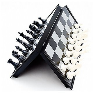 Mini Magnetic Travel Chess Set with Folding Board Educational Toys for Kids and Adults Pocket Size