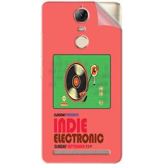 Snooky Printed Vinyl Mobile Skin Sticker For Lenovo Vibe K5 Note