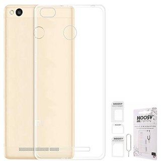 REDMI 3S TRANSPARENT BACK COVER BY VIRAL SALES