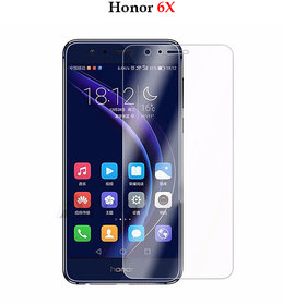 Honor 6X - Premium Flexible 2.5D Pro Hd+ Crystal Clear Tempered Glass Screen Protector For Honor 6X