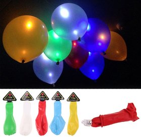 LED Balloons for Decorations , light balloons  Party Festival Celebrations (Set of 10)