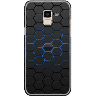 Hupshy Samsung Galaxy J6 Cover / Samsung Galaxy J6 Back Cover / Samsung Galaxy J6 Designer Printed Back Case & Covers