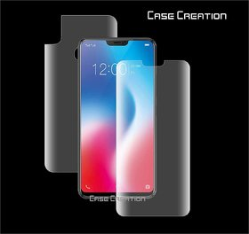 Screen Protector All Round 360 Skin Protection for Vivo V9 /  (Front ,Anti-Shock Proof,Unbreakable)