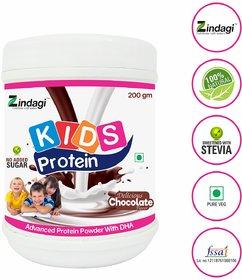 Zindagi Protein Powder For Kids - Health Drink For Kids - Kids Powder For Energy 200gm