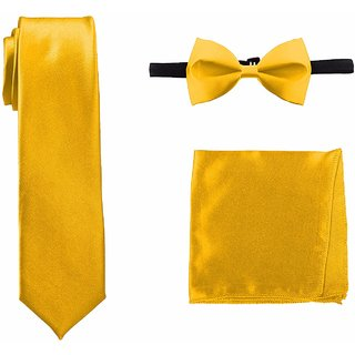 Mens Bow Ties, Pocket Squares and Necktie combo for Party, Style, fashion- By Billebon