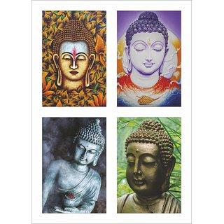 Buddha Poster Set of 4 Set 110