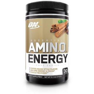 Optimum Nutrition (ON) Amino Energy Drink - 30 Servings (Iced Chai Tea Latte)