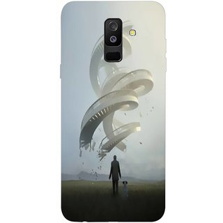 Printgasm Samsung Galaxy A6 Plus printed back hard cover/case,  Matte finish, premium 3D printed, designer case