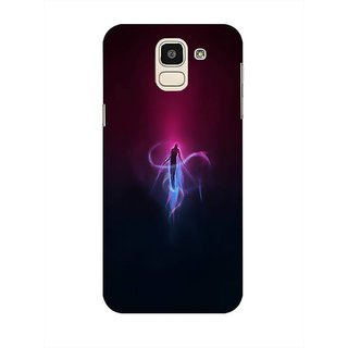 Printgasm Samsung Galaxy J6 printed back hard cover/case,  Matte finish, premium 3D printed, designer case