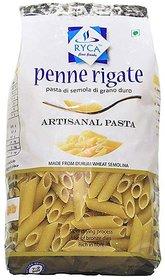 Ryca Artisanal Pasta Premium Quality- Penne, 500 Gram, Rich in Fibre, Imported.