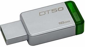 Kingston DataTraveler 16GB USB 3.0 Flash Drive (Silver