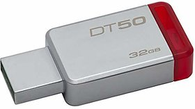 Kingston DataTraveler 32GB USB 3.0 Flash Drive (Gray)