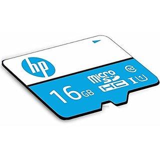 HP 16GB Class 10 MicroSD TF Memory Card (Black)