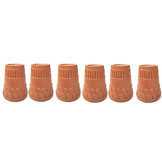 Real Organic Clay kulhad/Tea Cup/Coffee Cup (06 pcs)