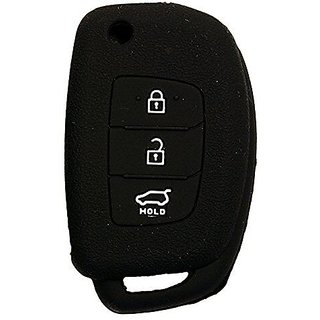 I20 New Black Silicone Key Cover