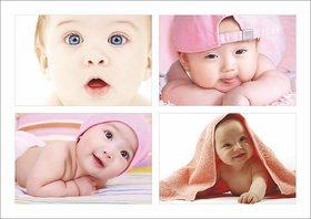 Baby Poster Set of 4 Set 11