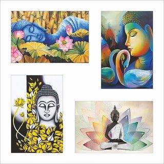 Buddha Poster Set of 4 Set 98