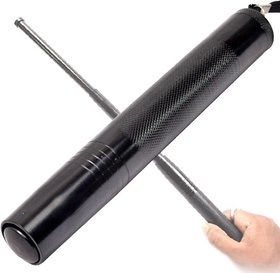 FOLDING ROD FOR SECURITY GUARD USEFUL  COMPACT-TO OPEN JUST JERK YOUR HAND