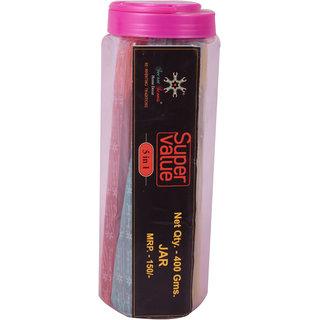 Secret Scents - Super Value Incense Sticks 400 GMS Plastic Container (Set of 3 Pack)