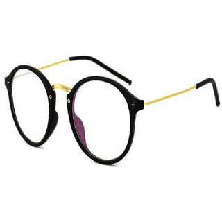 378a22eadfb Buy Fast Fox Golden Frame White Glass Round Sunglass for Men and Women  Online   ₹499 from ShopClues
