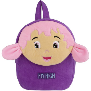 Buy Velboa School Bag - Purple - Made in India - By Lovely Toys Online -  Get 31% Off 12d4d7d0c81ba
